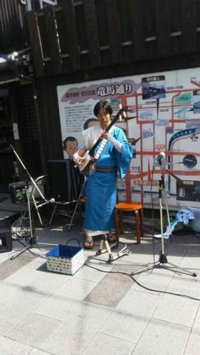 津軽三味線Jukiさん